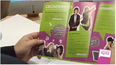 Imagefilm des Projektes GRÜNDERKIDS - Schülerfirmen Sachsen-Anhalt
