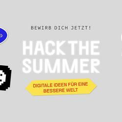 Jetzt schnell anmelden: Kreativwettbewerb #HackTheSummer startet nächste Woche!